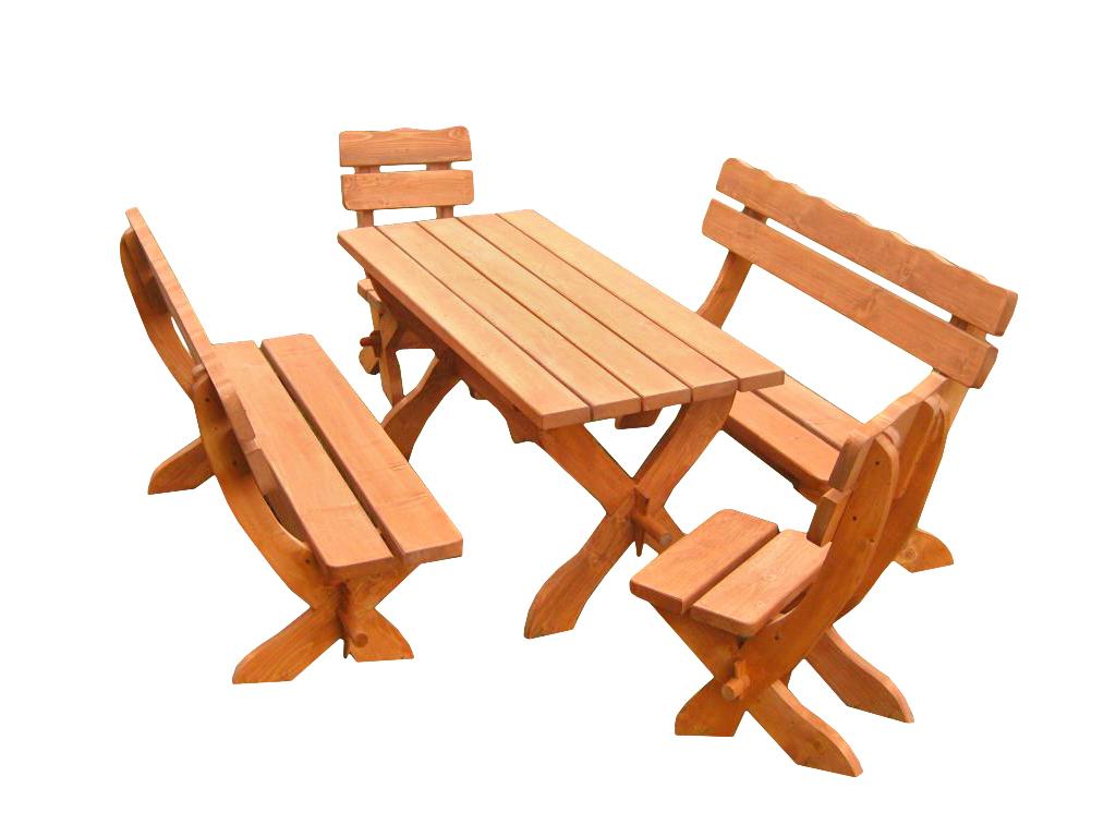 Komplet ogrodowy zwykły-świerkowy Dł. stołu oraz ławek 160cm/200cm Dł. siedzenia stołków 48cm Gr. wszystkich elemetów 4cm Impregnowany drewnochronem cena 700zł(160cm) netto(200cm+80zł)